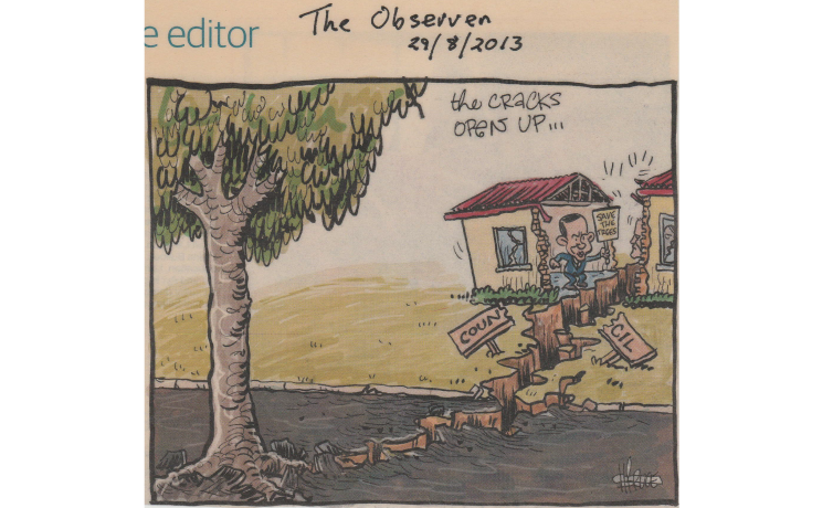 Uli Saves the Trees Cartoon