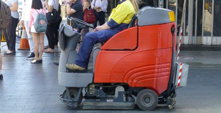 Footpath sweeper needed for the Burdekin