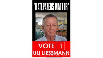 Uli Liessmann Election Poster